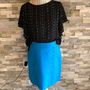 Loft skirt and top set